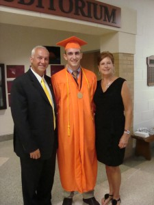 2012 Trevor Cook Scholarship Recipient
